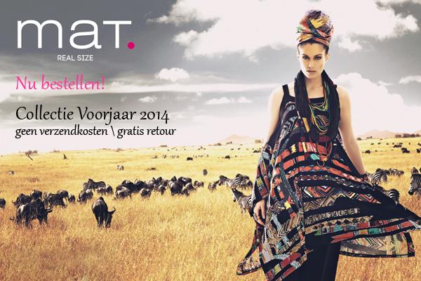 Nieuwe collectie Mat fashion Binnen