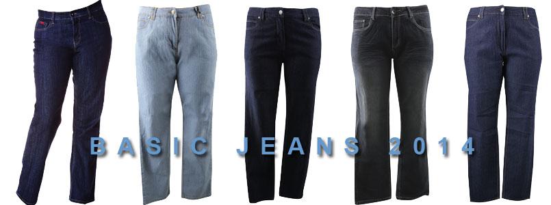 grote maten jeans basisbroeken