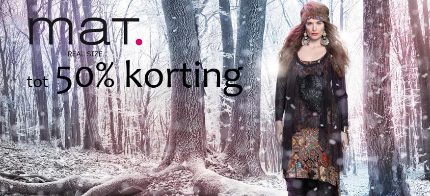 Mat fashion tot 50% korting