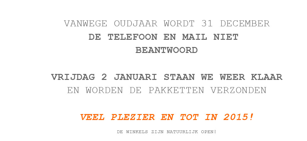 31 december geen telefoon geen mail