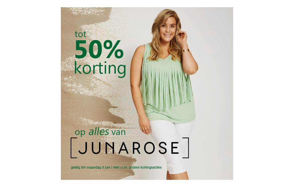 Junarose 20% korting