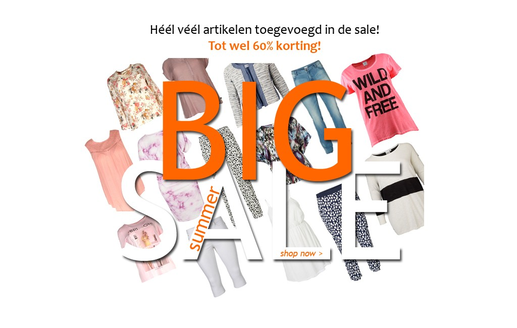 Sale Samoon en heel veel andere merken in de SALE!