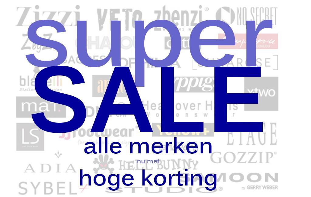 Geen bagoes kortingscode maar super sale