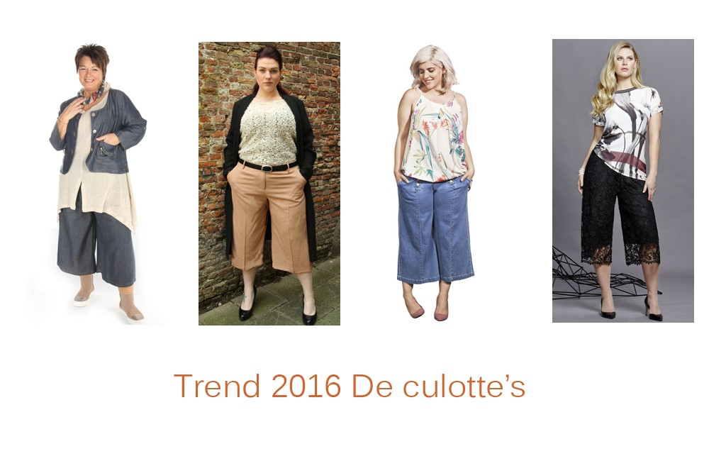 Culottes: nieuwe trend