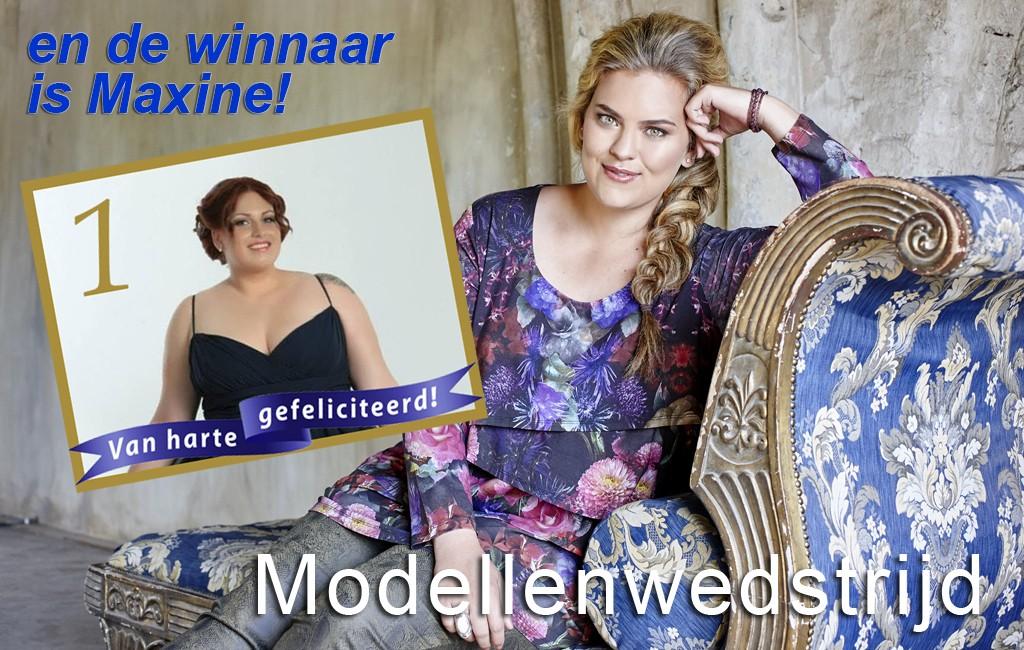 Modellenwedstrijd-winnares