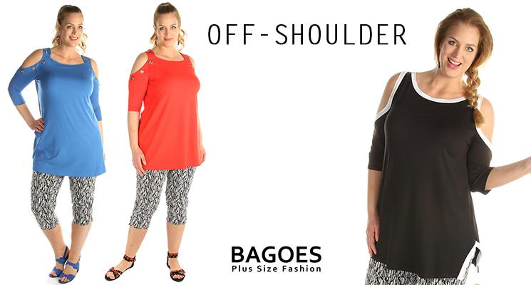 Off-shoulder tops voor de zomer