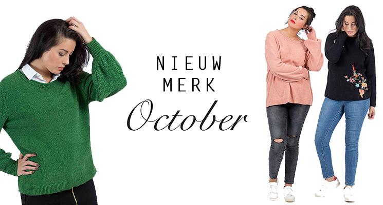 October: trendy, comfy en één van de nieuwe merken op Bagoes.nl