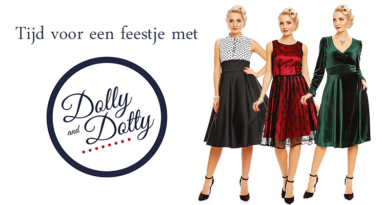 Dolly and Dotty | Shop jouw vintage look online