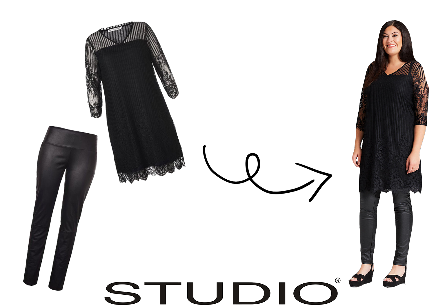 Collectie Studio leatherlook