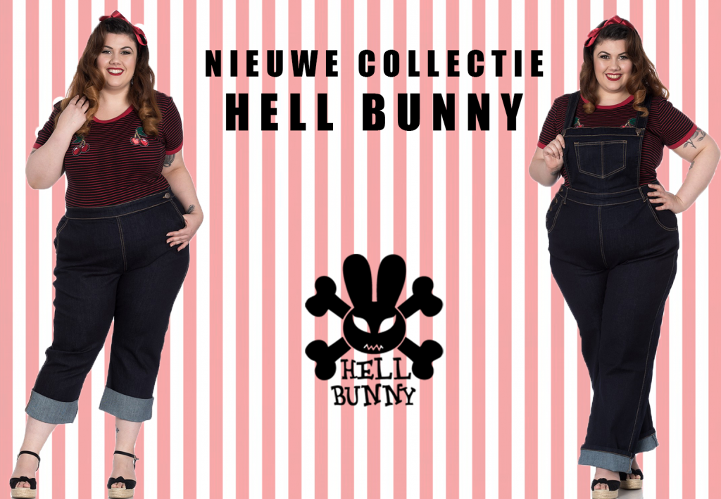 Hell Bunny plus size collectie 2018: denim is terug!
