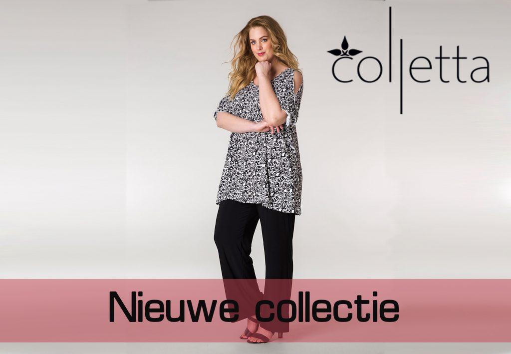 Voorjaarscollectie van Colletta in travel stof