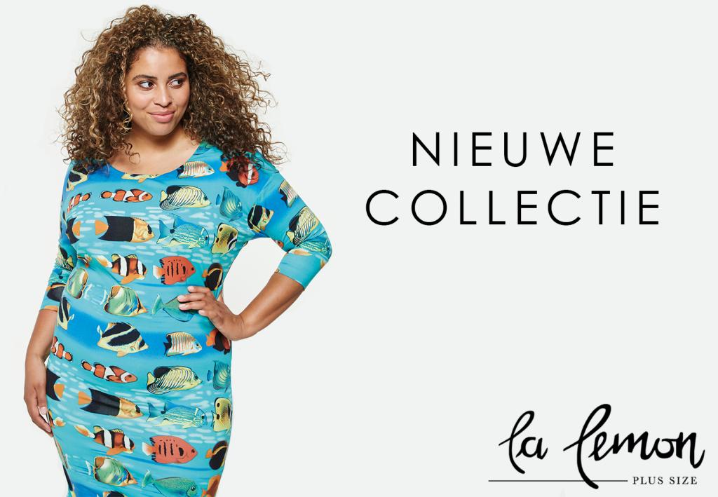 La Lemon, plus size merk met vrolijke prints bij Bagoes!
