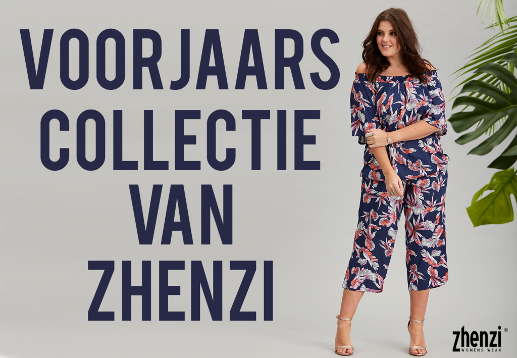 Zhenzi's voorjaarscollectie, de grote maten collectie die jij wil!
