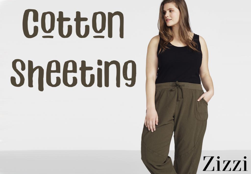 Cotton Sheeting collectie van Zizzi, volop beschikbaar bij Bagoes