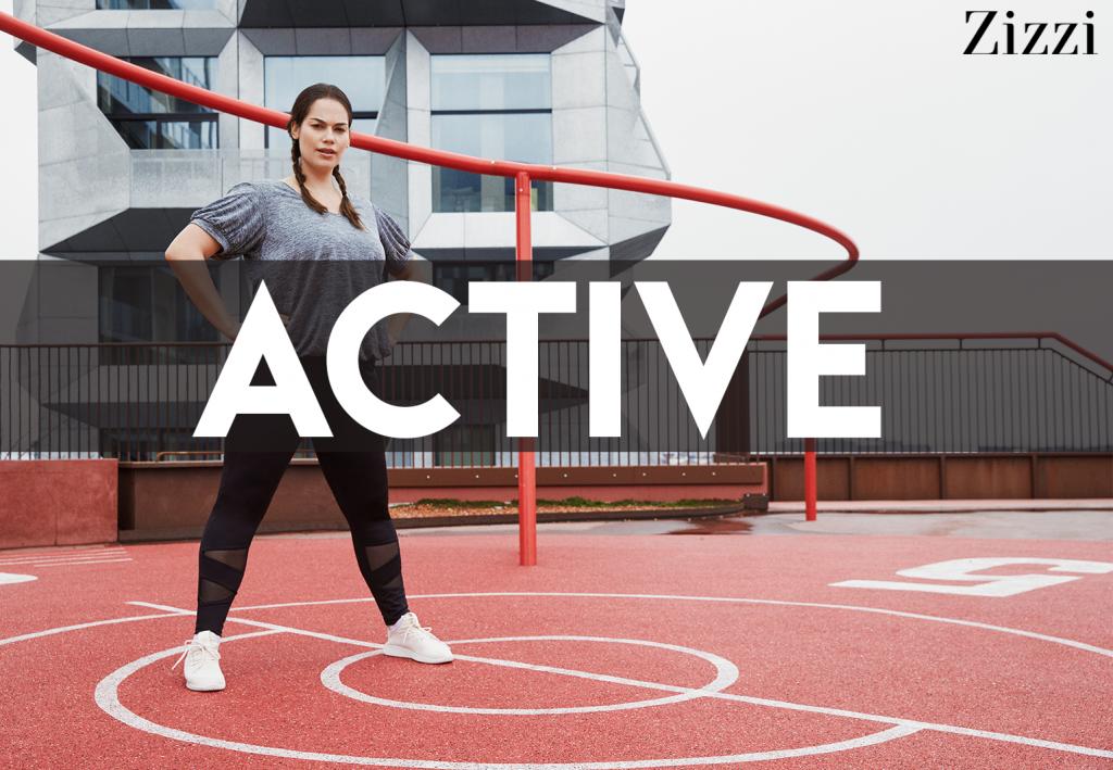 Zizzi Active, een prachtige grote maten sportcollectie
