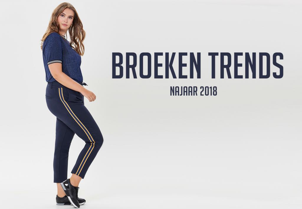 Broeken trends voor het najaar van 2018