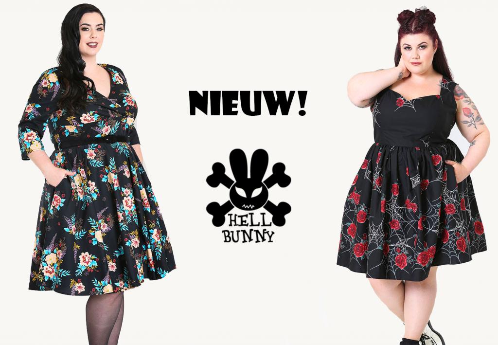 Plus size vintage jurk? Kies Hell Bunny!