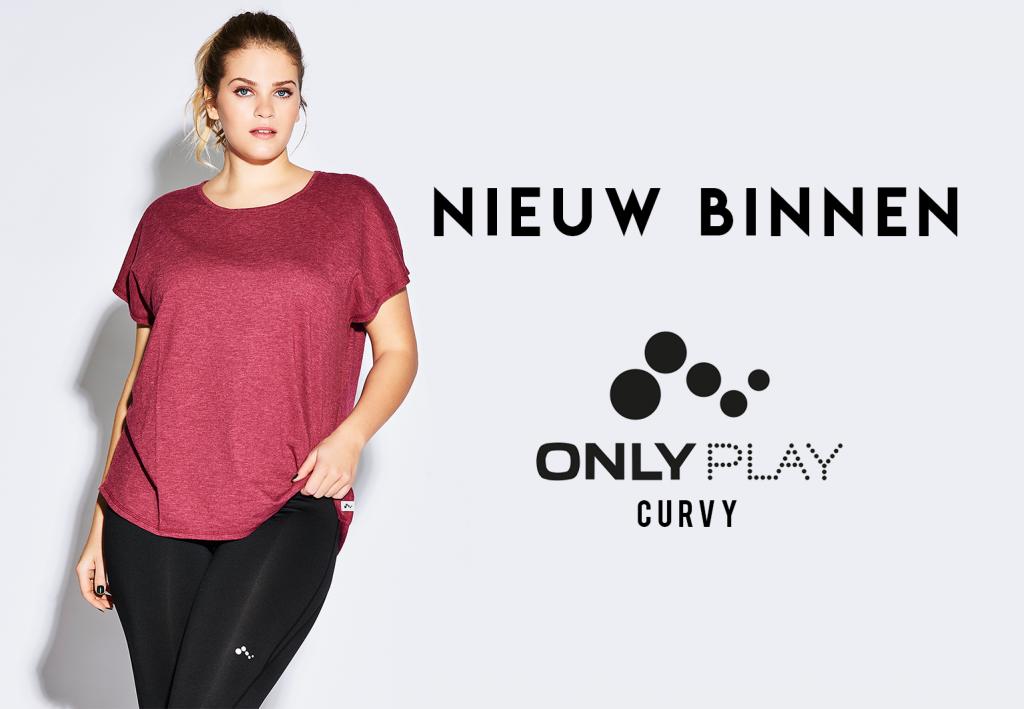 Only Play Curvy, hét sportkleding merk voor de curvy vrouw