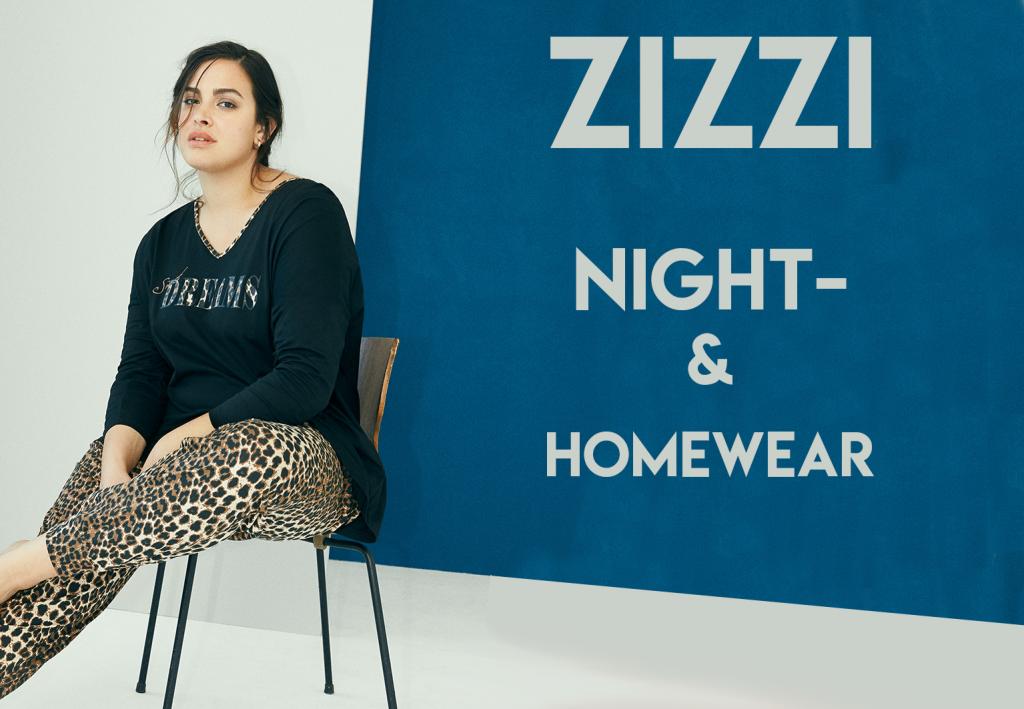 Nightwear en homewear van Zizzi zijn nieuw bij Bagoes!