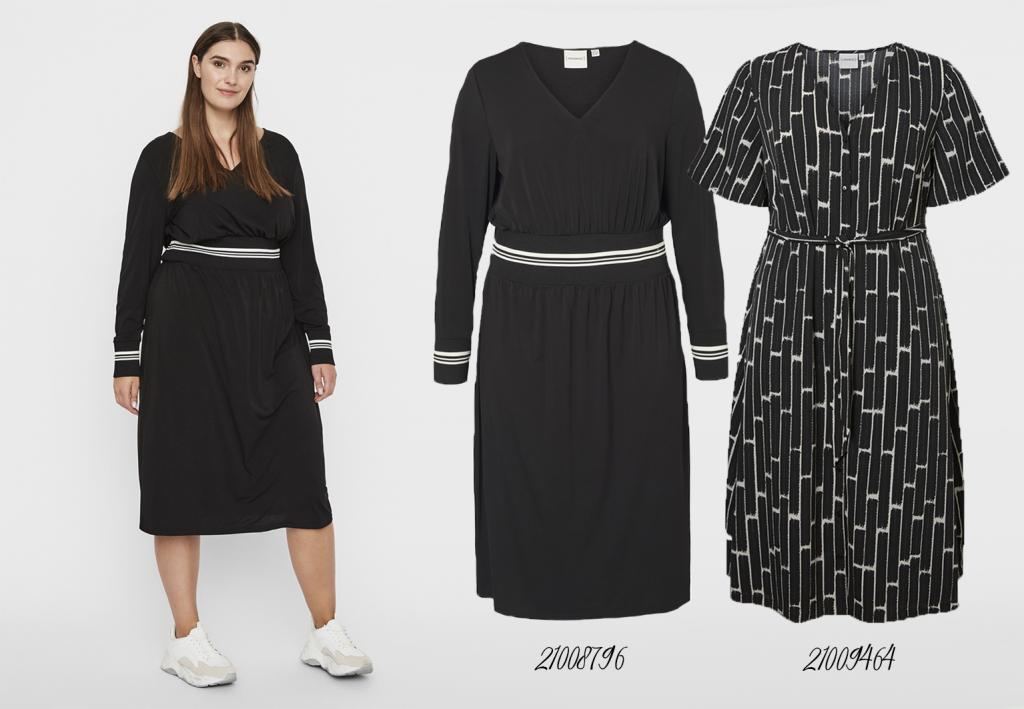grote maten jurken Junarose sneakpreview