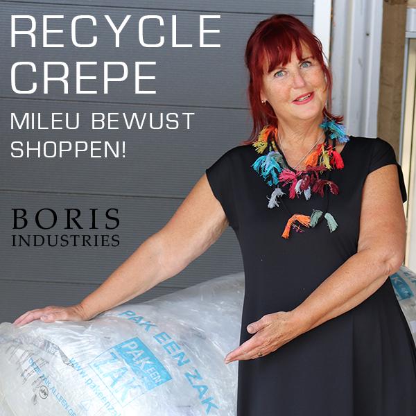 Boris Recycled Crêpe